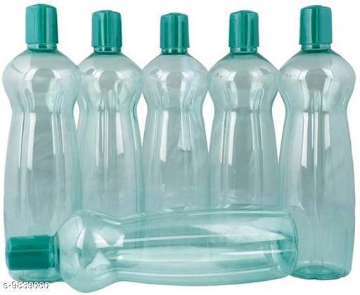 Trendy Solid Plastic Material Bottles