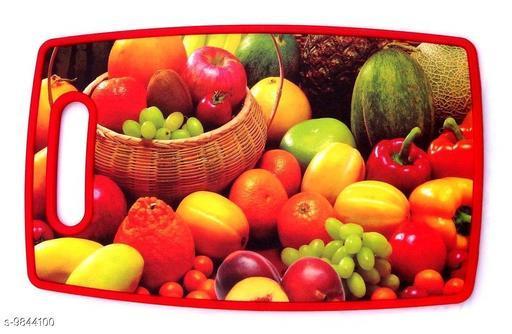 Giffy® 3D Multi-Design Food Grade Plastic Kitchen Chopping Board Plastic Cutting Board