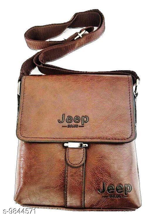 Slingbags Trendy Slingbag  *Material* Leather  *Sizes* Free Size (Length Size  *Sizes Available* Free Size *    Catalog Name: Voguish Fashionable Women Slingbags CatalogID_1751259 C73-SC1075 Code: 976-9844571-