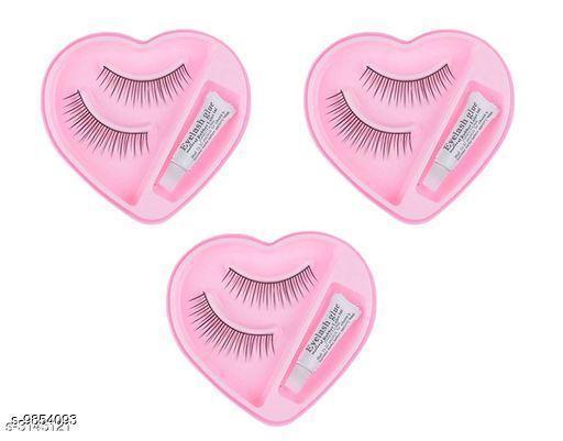 Eyes eyelash_setof3  *Product Name* eyelash_setof3  *Sizes Available* Free Size *    Catalog Name:  Premium Choice False Eyelashes CatalogID_1753060 C51-SC1242 Code: 551-9854093-
