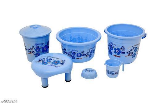 Bath Sets Plastic Bathroom Set Blue  *Pack* Multipack  *Sizes Available* Free Size *    Catalog Name: Modern Bath Sets CatalogID_1753615 C132-SC1587 Code: 577-9857206-