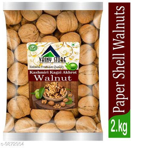 Dry Fruits  Kashmiri Walnuts Kashmiri Walnuts  *Capactity * 2kg  *Sizes Available* Free Size *    Catalog Name: Dry Fruit  (1529401) CatalogID_1756643 C89-SC1738 Code: 2071-9872954-