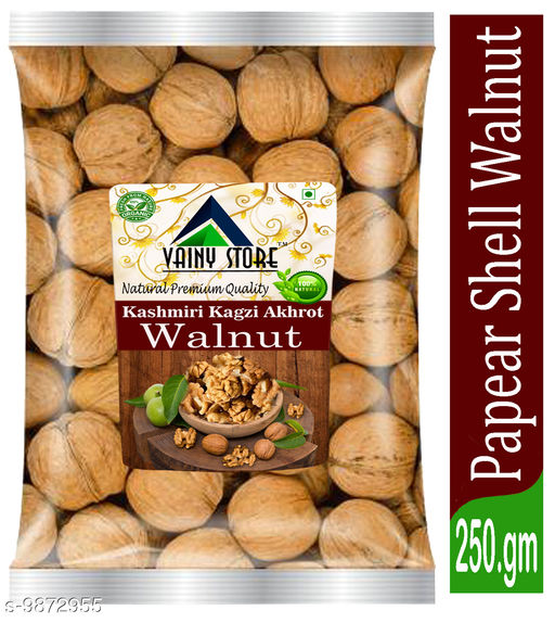 Dry Fruits  Kashmiri Walnuts Kashmiri Walnuts  *Capactity * 250gm  *Sizes Available* Free Size *    Catalog Name: Dry Fruit  (1529401) CatalogID_1756643 C89-SC1738 Code: 273-9872955-
