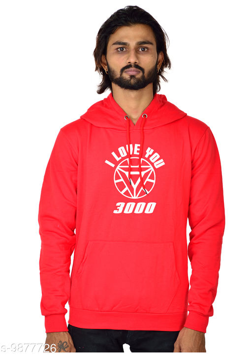 IL3000 Printed Hooded Neck Sweatshirt for Men