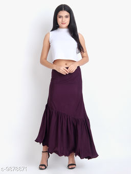 Real Vibes Eyelet Skirt
