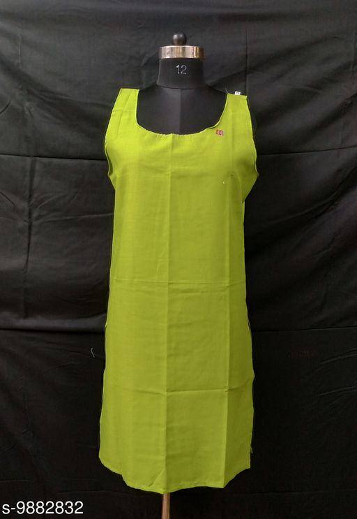 Best Cotton Long Camisole (Inner)