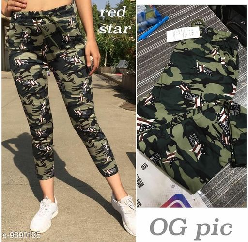 Active Bottomwear Camouflage Trousers Pant  *Fabric* Imported Cotton  *Pattern* Printed  *Multipack* 1  *Sizes*   *32 (Waist Size* 32 in, Length Size  *28 (Waist Size* 28 in, Length Size  *30 (Waist Size* 30 in, Length Size  *34 (Waist Size* 34 in, Length Size  *Sizes Available* 28, 30, 32, 34 *    Catalog Name:  Active Bottomwear CatalogID_1760767 C79-SC1408 Code: 913-9890185-