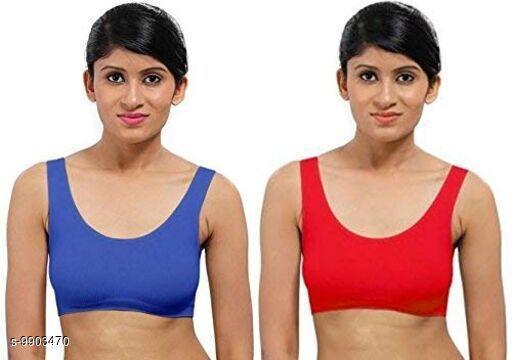 Girl's & Women's Nylon Solid Air BRA