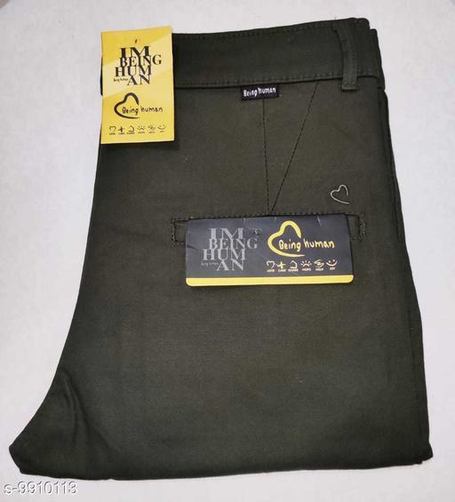 Trousers Men's Premium Cotton Trousers  *Fabric* Cotton  *Sizes*   *28 (Waist Size* 28 in, Length Size  *Sizes Available* 28 *    Catalog Name: Designer Unique Men Trousers CatalogID_1765066 C69-SC1212 Code: 236-9910113-