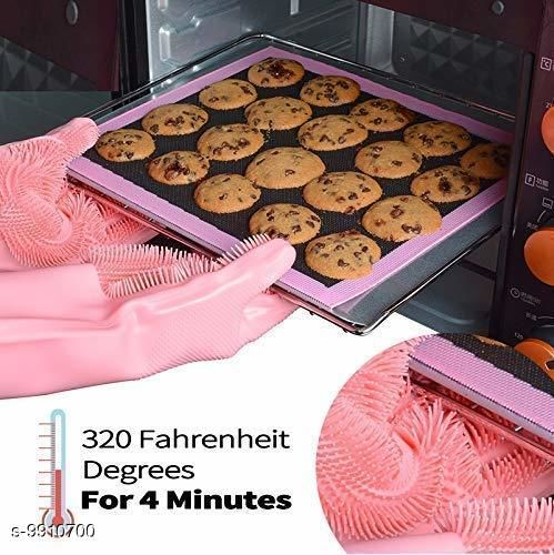 Oven Gloves washing gloves(multicolor)  *Material* Rubber  *Size* Free Size  *Sizes Available* Free Size *    Catalog Name: Wonderful Cleaning Gloves CatalogID_1765198 C129-SC1636 Code: 514-9910700-