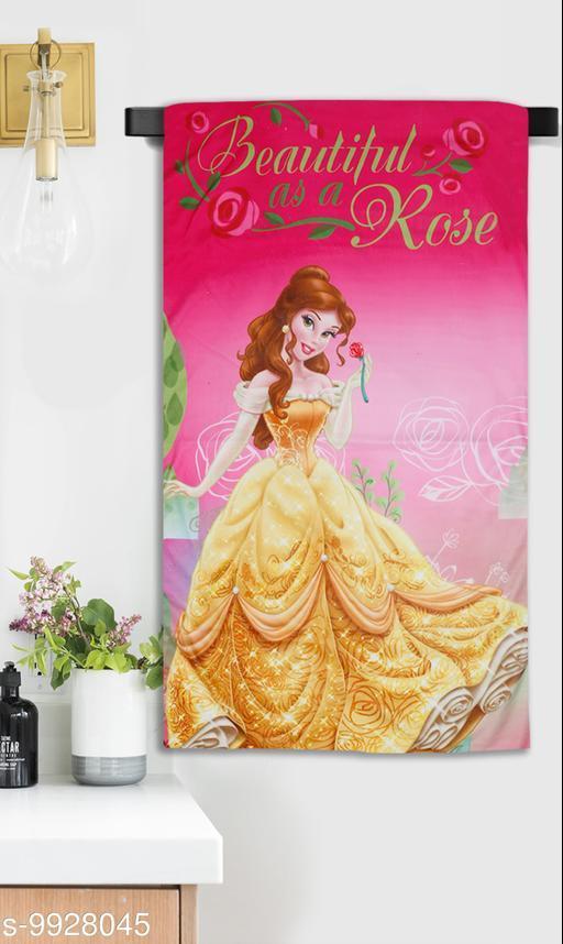 Princess Beauty Printed Microfiber Towel