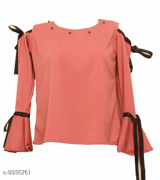 Sportwear Tops Casual tops  *Fabric* Rayon  *Multipack* 1  *Sizes*  L  *Sizes Available* L *    Catalog Name: Comfy Women Sports & Activewear Tops CatalogID_1769563 C78-SC1058 Code: 266-9930761-