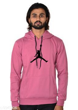 BALL Printed Hooded Neck Sweatshirt for Men