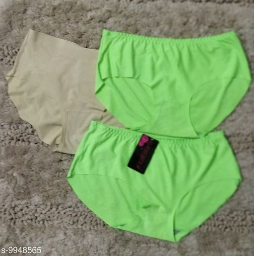 Briefs TRENDY WOMEN BRIEFS  *Fabric* Polyester  *Multipack* 3  *Sizes*   *S (Waist Size* 26 in)  *Sizes Available* S *    Catalog Name: Sassy Women Briefs CatalogID_1773887 C76-SC1042 Code: 623-9948565-