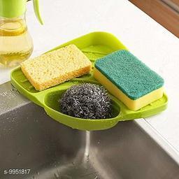 Useful Multipurpose Must Have Corner Sink Wash Basin Storage Organizer Rack,Pack of 1