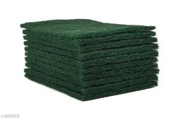Green Scouring Pads For Utensils & Kitchen Cleaning Combo Set