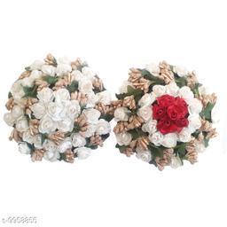 VinshBond Artificial Flower Gajra Pack of 2