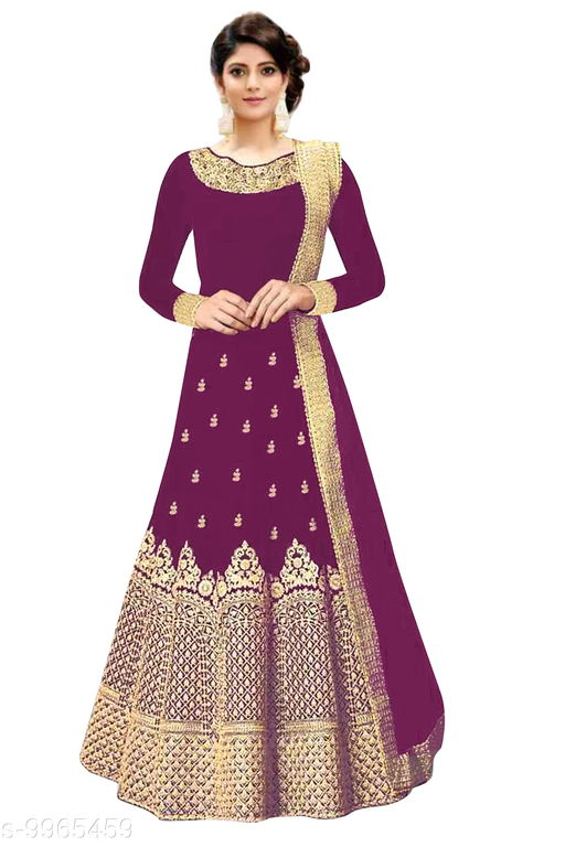 Ethnic Bottomwear - Salwars & Chudidars Promise Plus Group purple Georgette salwar  *Fabric* Georgette  *Pattern* Embroidered  *Multipack* 1  *Stitch Type* Semi-Stitched  *Dupatta Fabric* Georgette  *Print or Pattern Type* Embroidered  *Sizes*   *Free Size (Bottom Waist Size* 44 in, Bottom Hip Size  *Sizes Available* Free Size *    Catalog Name: Kashvi Petite Women Salwars CatalogID_1778079 C74-SC1017 Code: 9651-9965459-