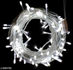 Rice String  Decoration Light white ,Set of 1 (White, 15m 70 LED)