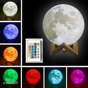 LED Lights & Lamps Moon Light  *Pack* Pack of 1  *Sizes Available* Free Size *    Catalog Name: Attractive Table Lamps CatalogID_1781562 C103-SC1416 Code: 648-9982325-