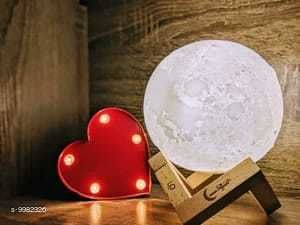LED Lights & Lamps Moon Light  *Pack* Pack of 1  *Sizes Available* Free Size *    Catalog Name: Attractive Table Lamps CatalogID_1781562 C103-SC1416 Code: 648-9982326-
