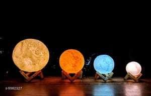LED Lights & Lamps Moon Light  *Pack* Pack of 1  *Sizes Available* Free Size *    Catalog Name: Attractive Table Lamps CatalogID_1781562 C103-SC1416 Code: 648-9982327-