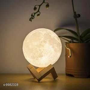 LED Lights & Lamps Moon Light  *Pack* Pack of 1  *Sizes Available* Free Size *    Catalog Name: Attractive Table Lamps CatalogID_1781562 C103-SC1416 Code: 648-9982328-