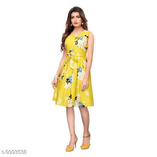 Dresses Trendy Dresses  *Fabric* Crepe  *Sizes*  L  *Sizes Available* L *    Catalog Name: Classy Latest Women Dresses CatalogID_1784143 C79-SC1025 Code: 467-9993538-