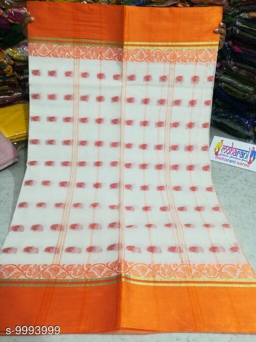 Trendy Bengal Women's Handloom Cotton Saree