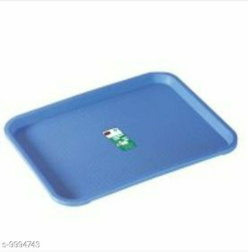 Plastic Serving Tray Platter Rectangular Shape Plastic Trays for Drink Breakfast Tea Dinner Coffee Salad Food for Dinning Table Home Kitchen b