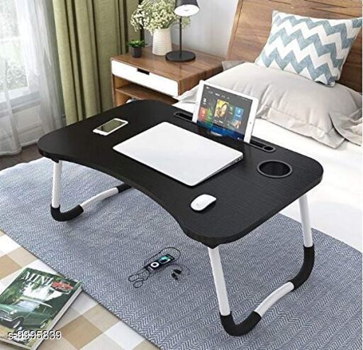 Other Computer Accessories  Multi-purpose Table / Desk Product Name : Multi-purpose Table / Desk Material: Wood Multipack: 1 Sizes :  Length Size : 60 cm Width Size : 40 cm Height Size : 27 cm Description : It Has 1 Piece Of Multi-purpose Table / Desk Country of Origin: India Sizes Available: Free Size *Proof of Safe Delivery! Click to know on Safety Standards of Delivery Partners- https://ltl.sh/y_nZrAV3  Catalog Rating: ★3.8 (46)  Catalog Name: Multi-purpose Table / Desk CatalogID_1784651 C106-SC1406 Code: 025-9995839-
