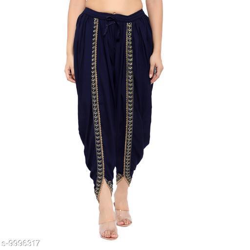 Right Choice Women's Stylish Dhoti Salwar (Free Size)